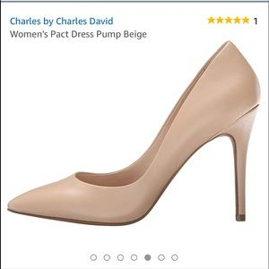 "NWOT Charles by Charles David The ""Pact"" Pump/Nude"
